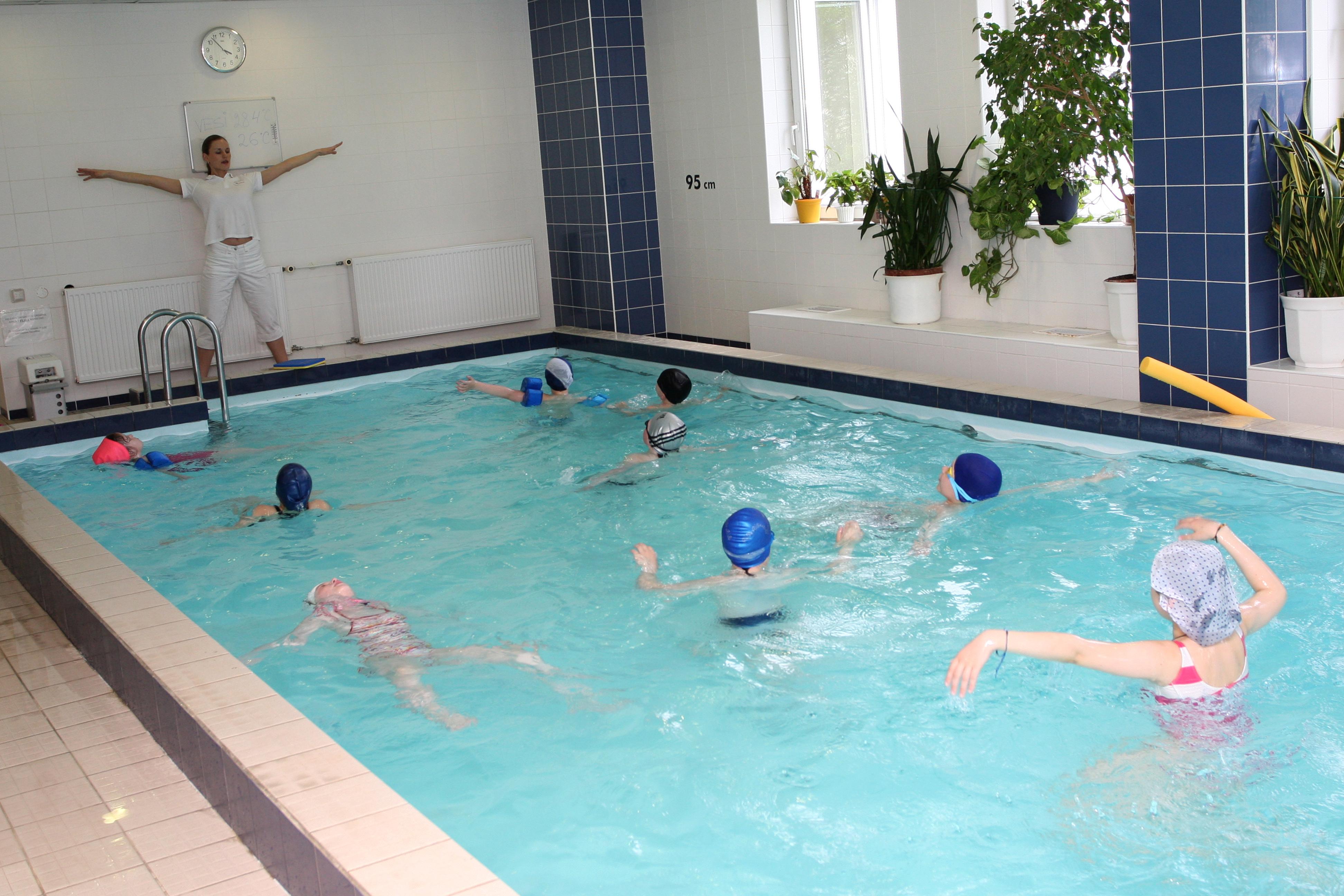 Ujumine lastele 7-10